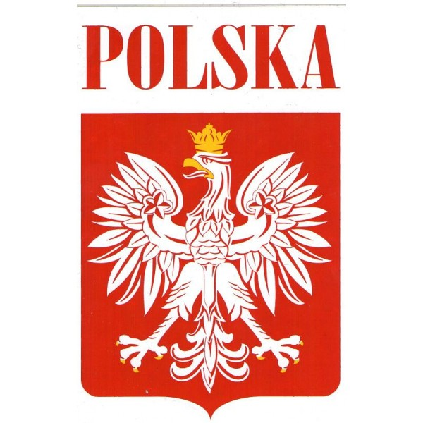 Favori Polskamania - Autocollant Polska VV67